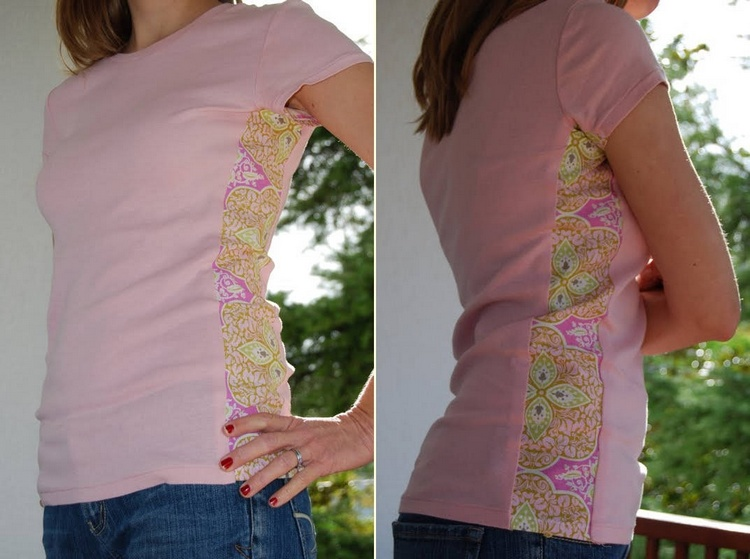 Side Panel T-Shirt Refashion