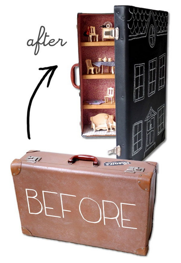 Suitcase Dollhouse