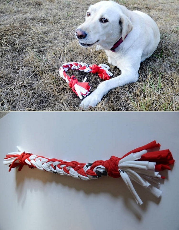 T-Shirt Dog Toy