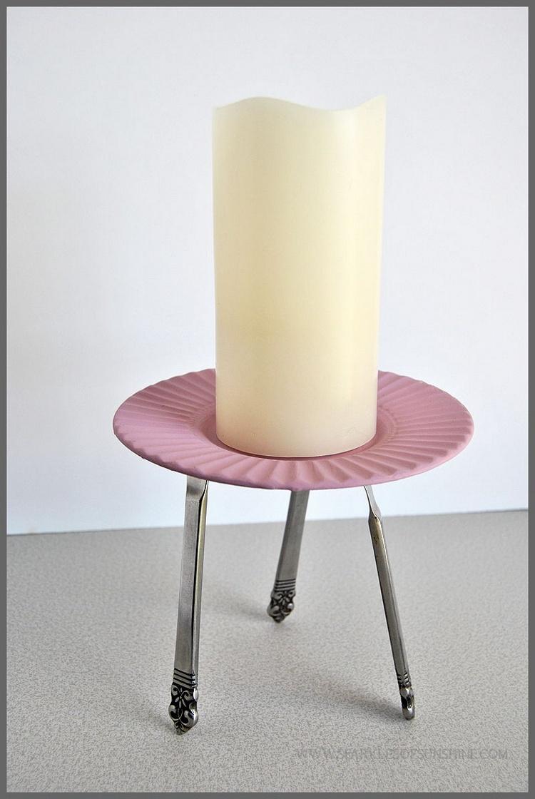 Upcycled Candleholder