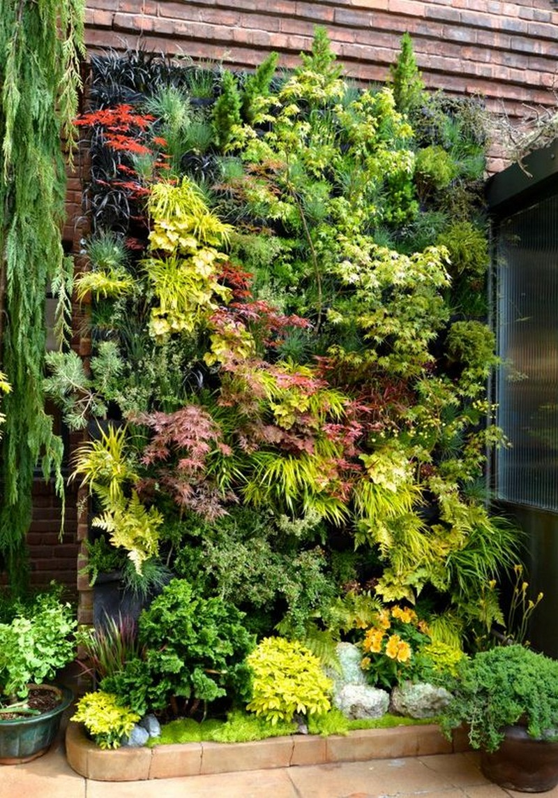 Vertical Garden Wall Ideas