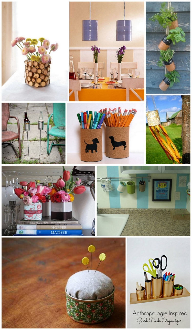 Ways to Upcycle and Reuse Tin Cans DIY Projects