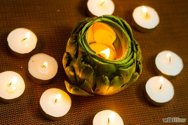 Artichoke Candleholders