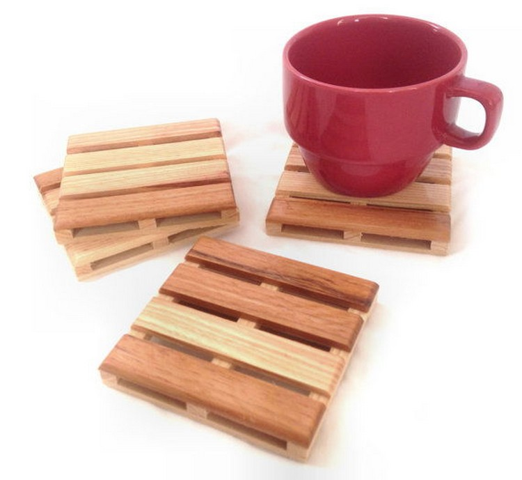 Beverage Pallet Drink Coaster