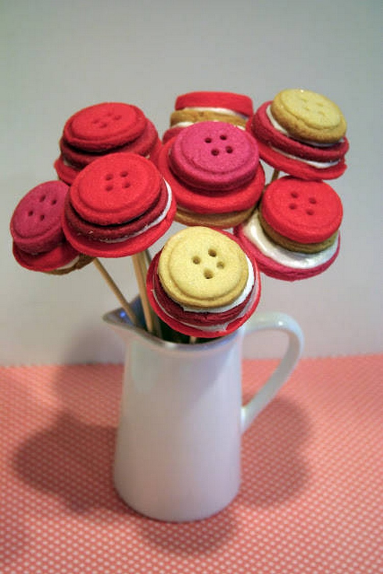 Button Cookie Bouquet