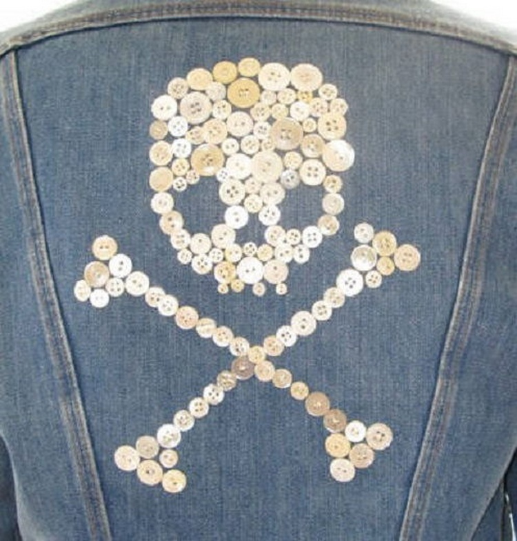Button Skull Jacket