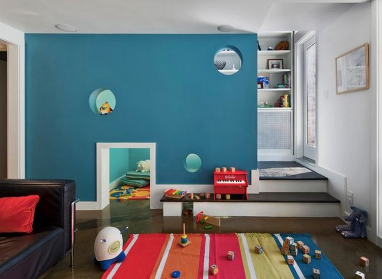 Contemporary Kids Room