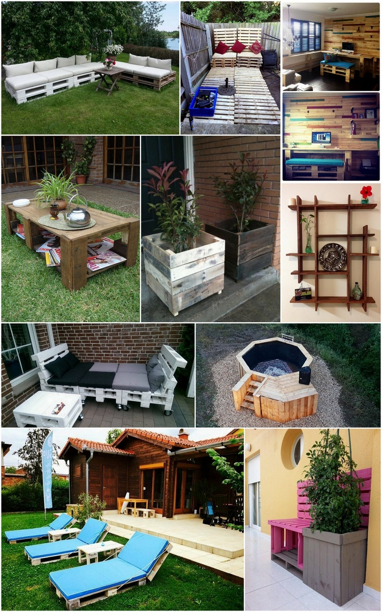 DIY Recycled Wooden Pallet Projects Ideas