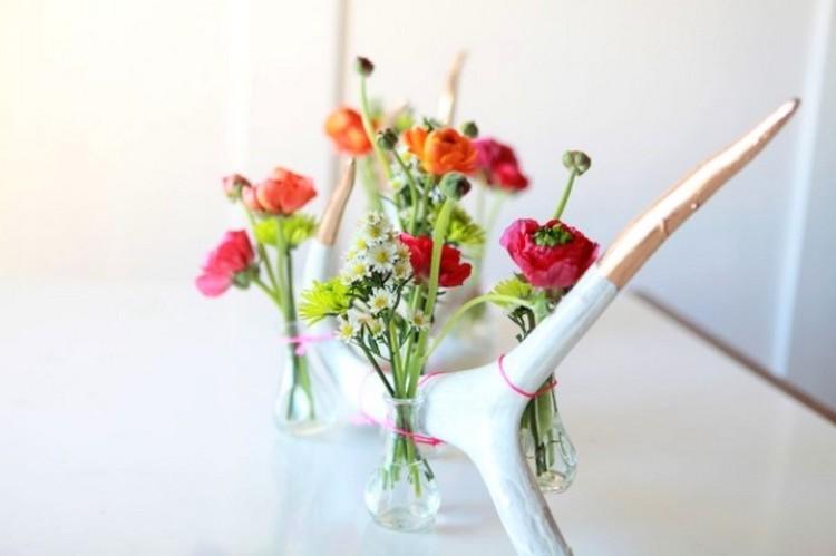 Floral Antler Piece