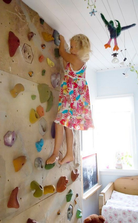 Indoor Wall Climb