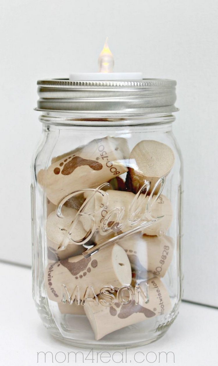 Mason Jar Tea Light Insert