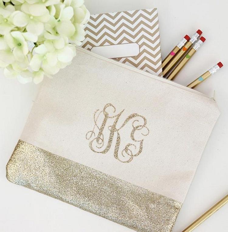Monogram Pencil Bag