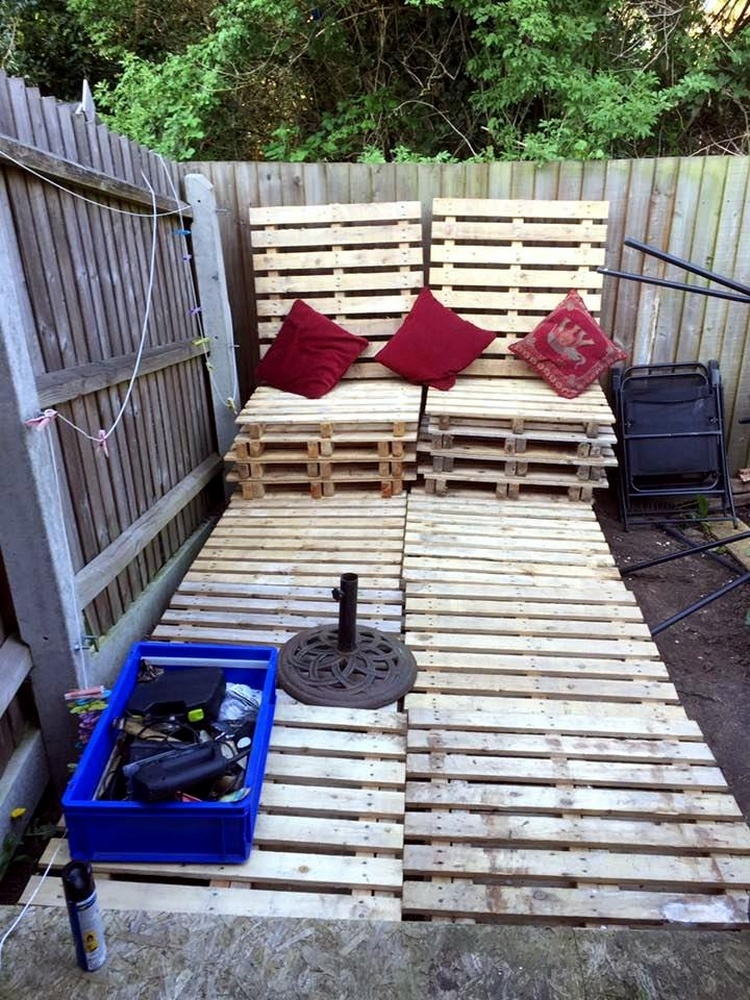 Pallet Deck Chairs