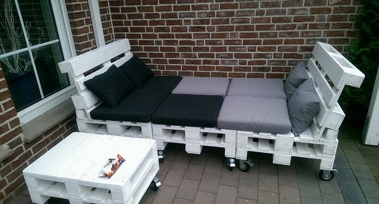 Pallet Lounge Seating Plan