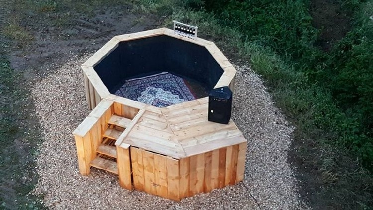Pallet Outdoor Pool