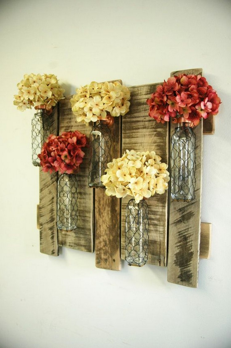 Wire And Glass Wall Art Home Decor ~ Top awesome kitchen pallet project ideas you can diy