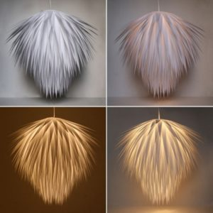 20+ Awesome DIY Lamps and Chandeliers You Can Make Using Everyday Objects