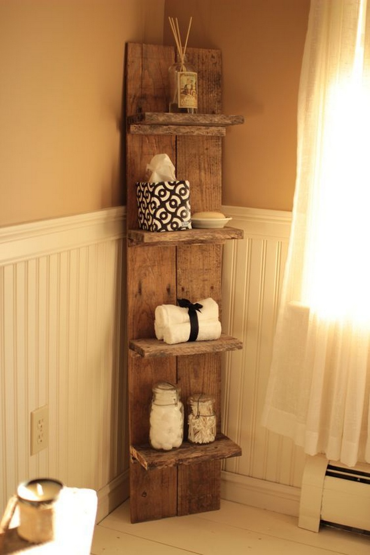 Diy pallet projects to be in your next to do list for Bathroom hardware ideas