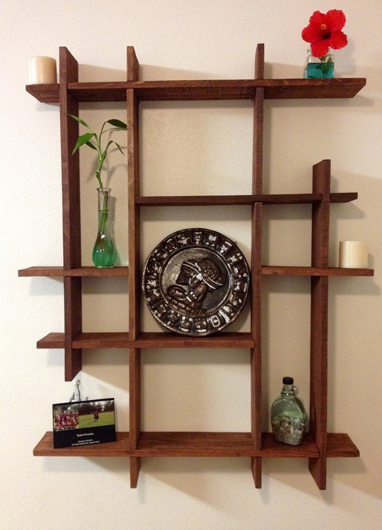 Wood Pallet Decorative Shelf
