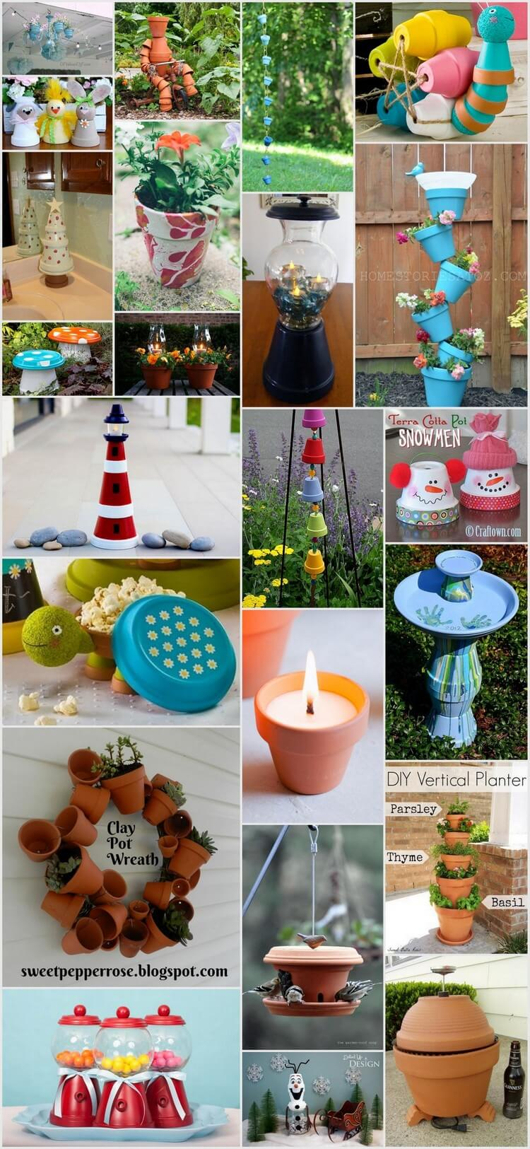 20+ Fascinating Things To Make With Clay Pots