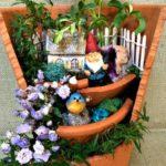 Broken Pot Gnome Garden