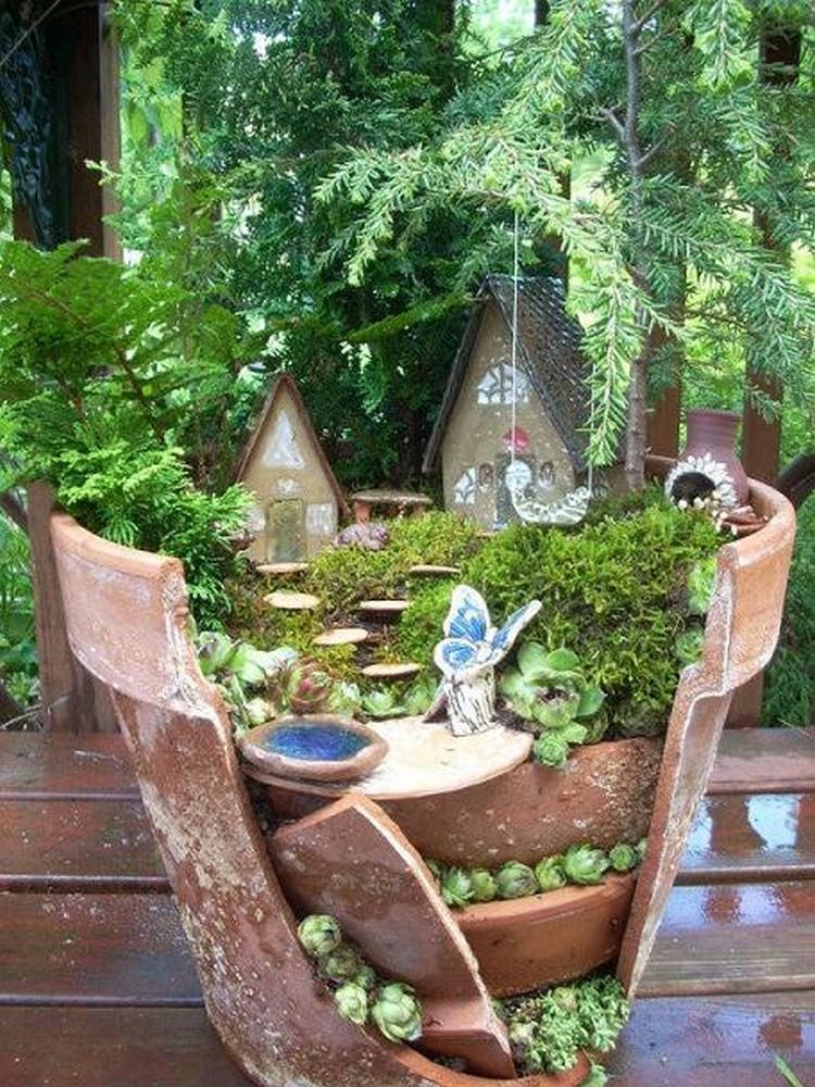 Creative Fairy Garden