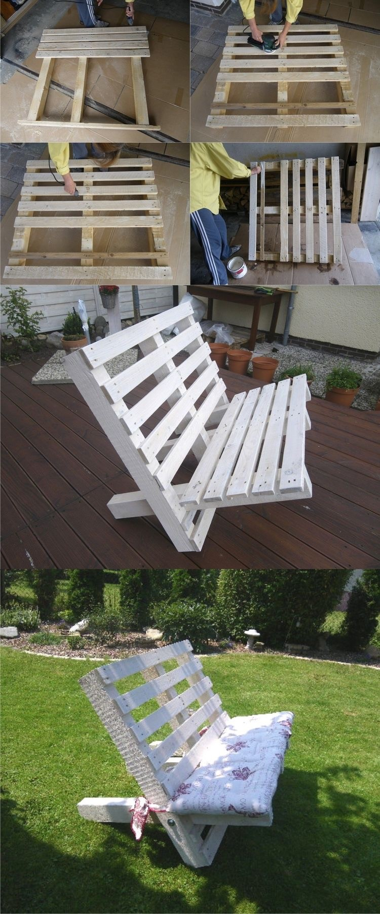 Things to make with old wooden pallets recycled things - Ideas con pallets ...