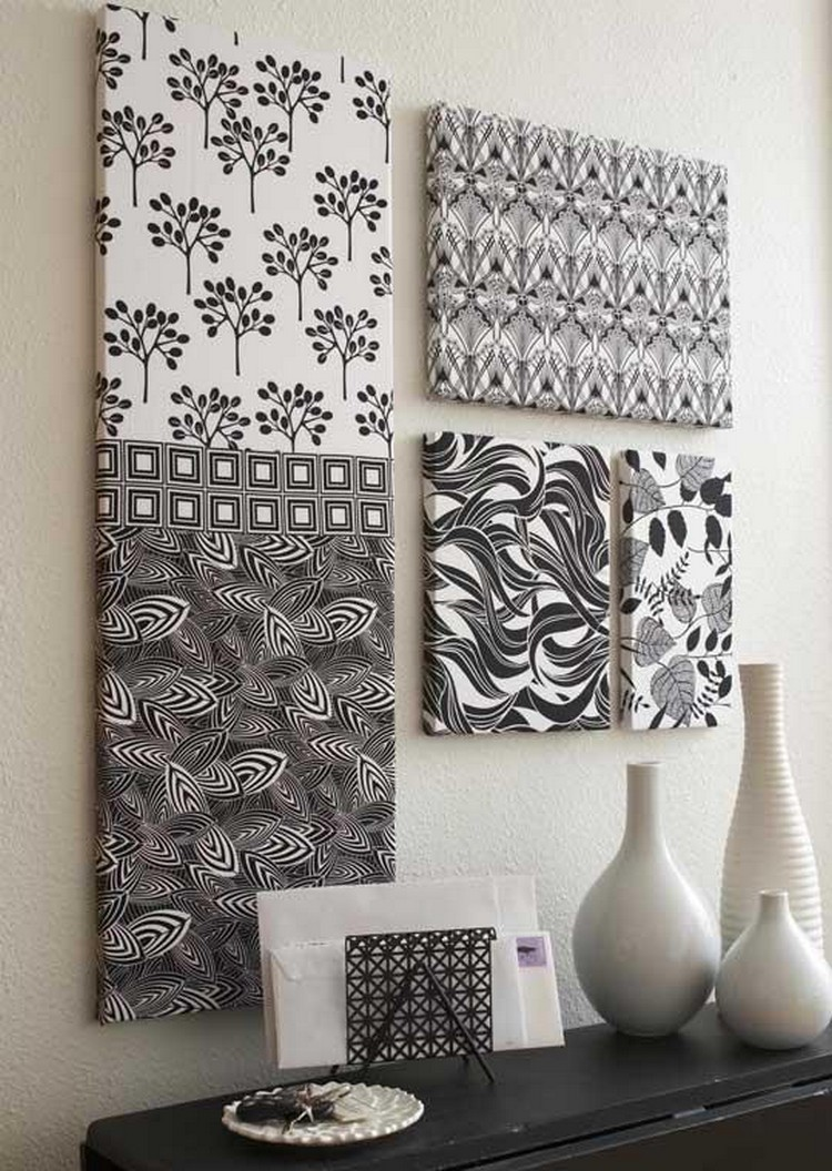 Diy Wall Art For Your Home : Creative diy wall art projects for your home recycled things
