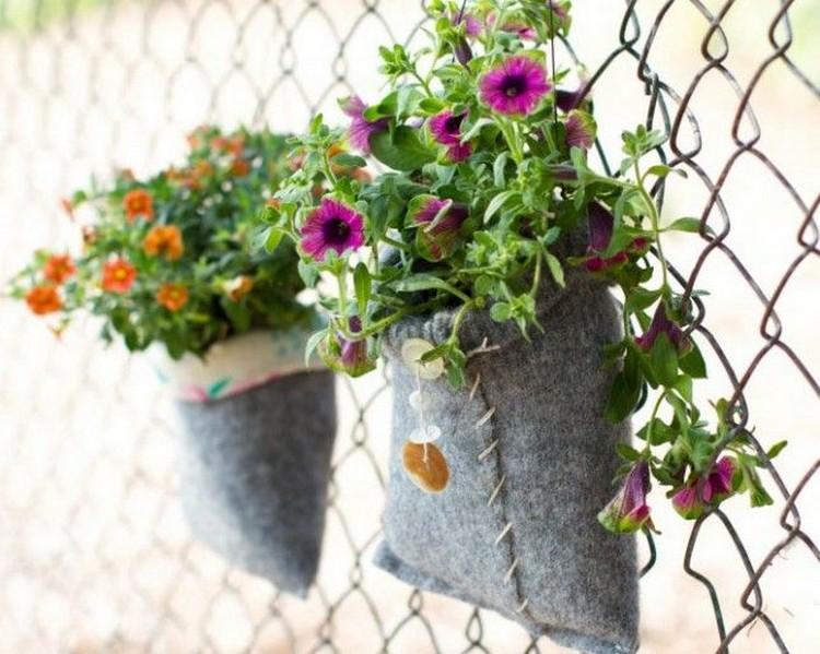 Felt Plant Pouches