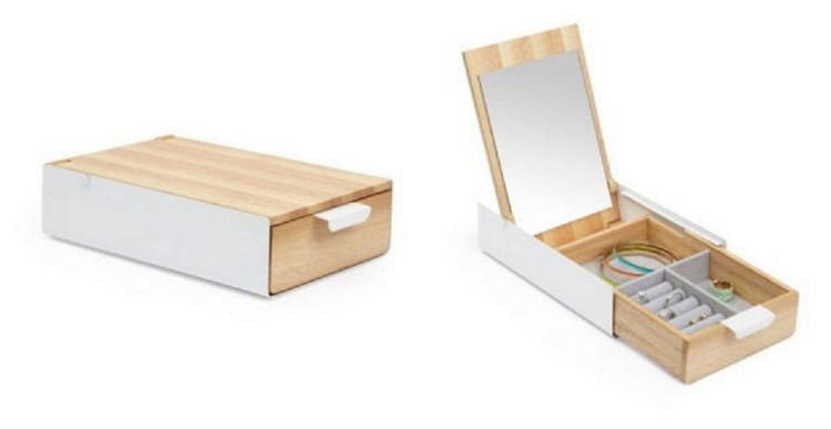 Hide Slide Jewelry Box
