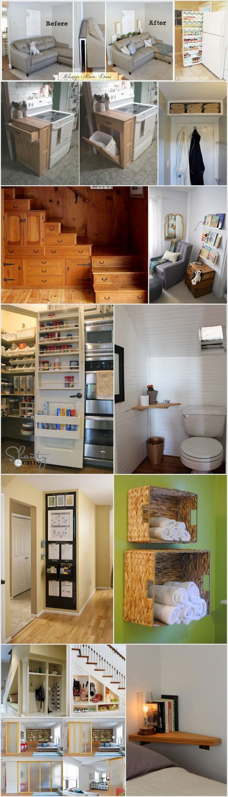 Ingenious DIY Project Ideas For Small Spaces