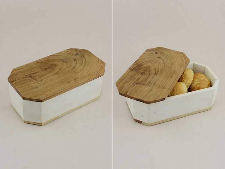 Marble and Wood Box