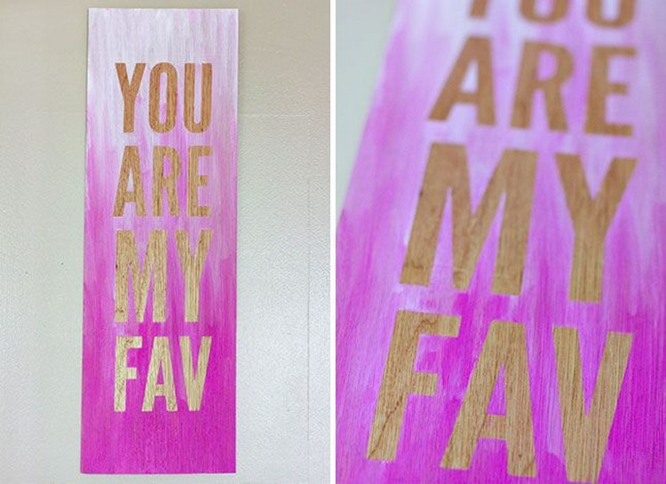 Ombré Quote Wall Art
