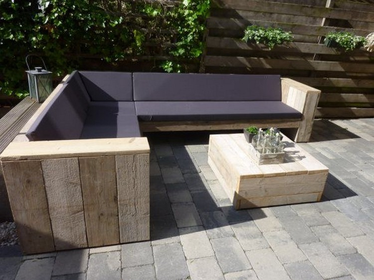 Pallet Garden Patio Couch