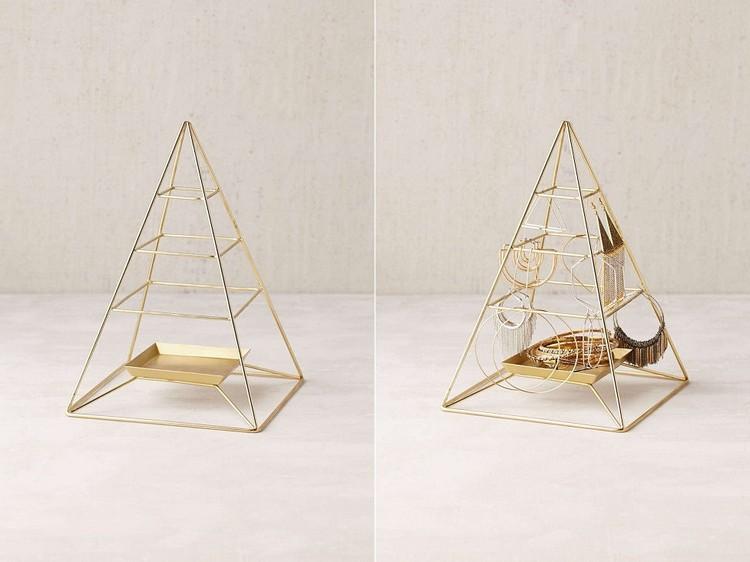 Pyramid Jewelry Stand