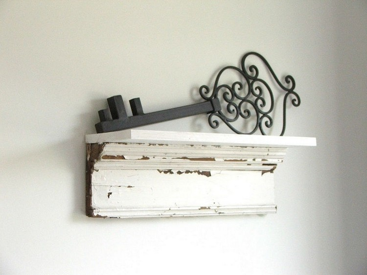 Salvage Wood Shelves