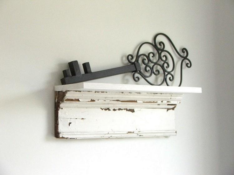 Salvage Wood Shelves