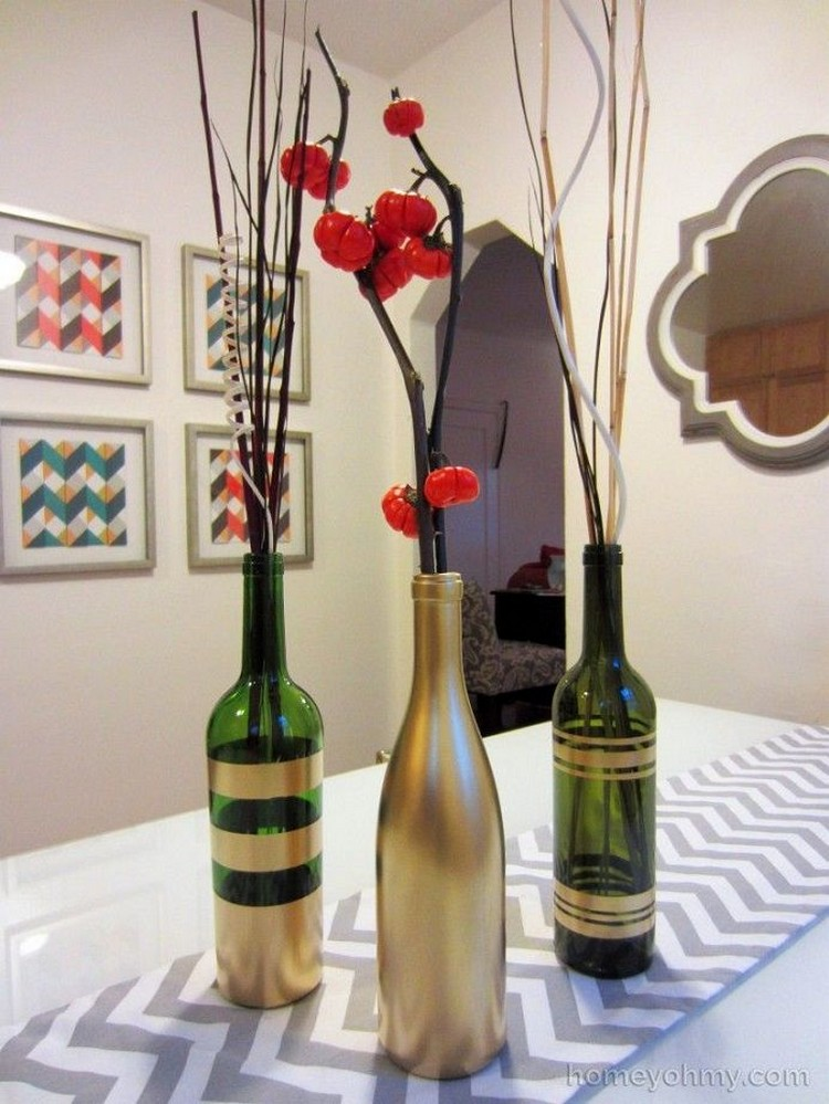 Creative Diy Wine Bottle Craft Ideas Recycled Crafts