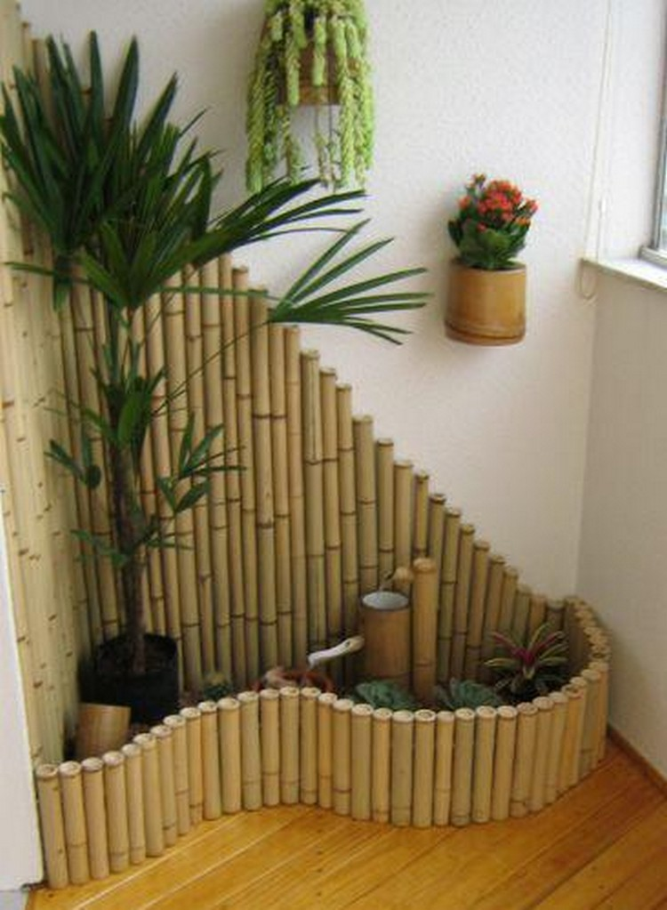 Top 16 easy and attractive diy projects using bamboo for Decoration jardin