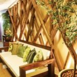 Bamboo Wall Decor Idea