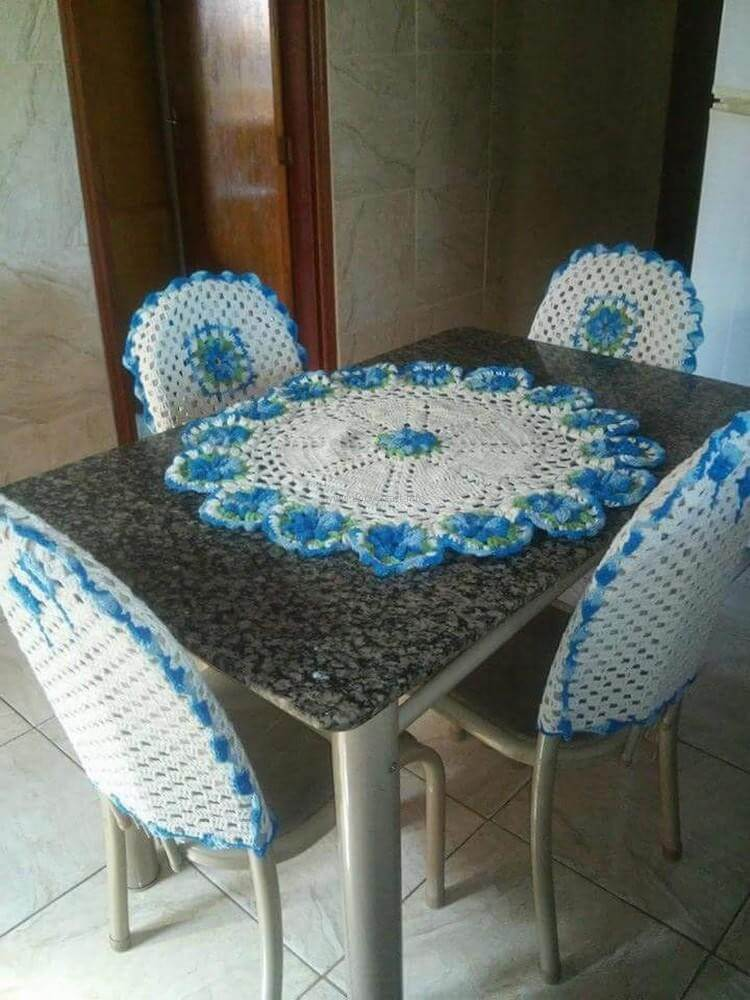 Crochet Furniture Decor