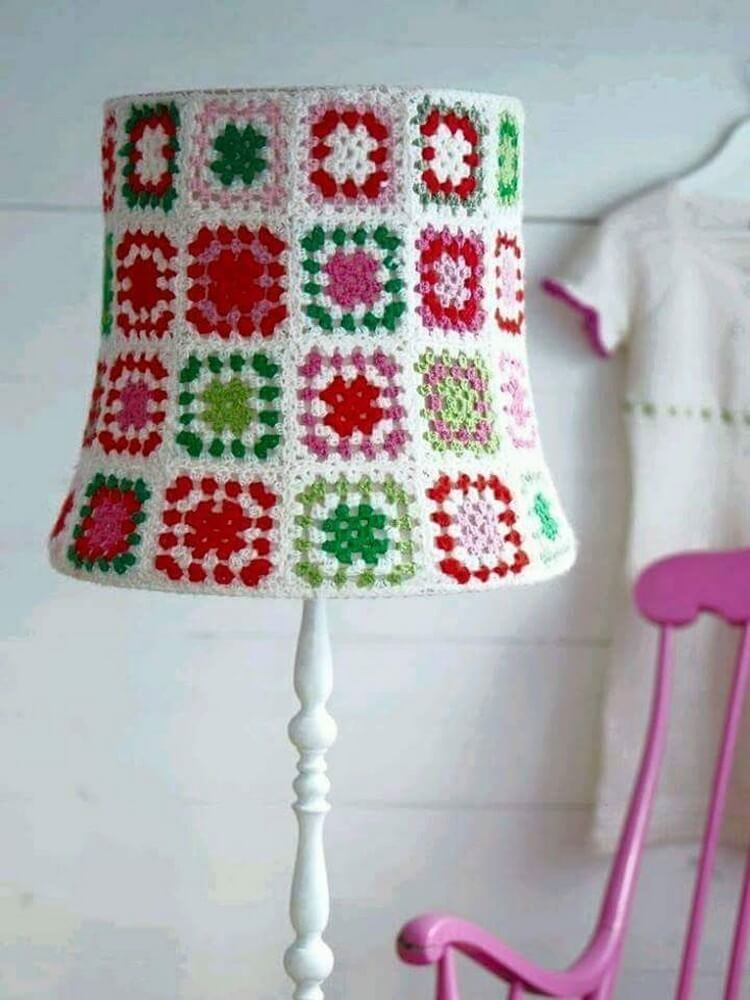 Crochet Lamp Art
