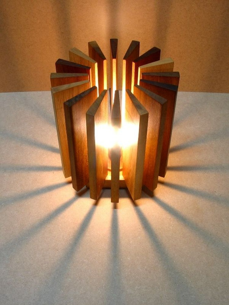 Cute Wooden Lamp