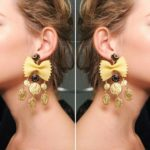 Dolce & Gabbana Pasta Earrings