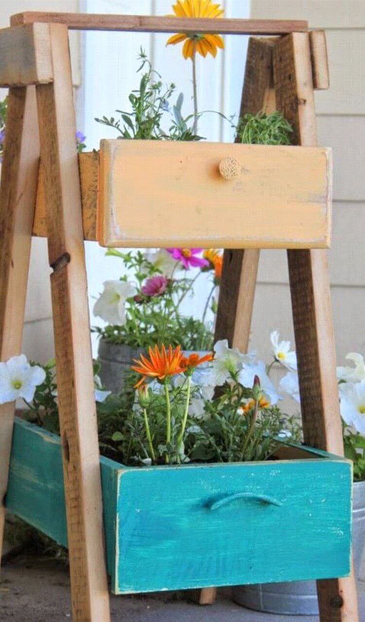 Drawers Cute Garden Planters