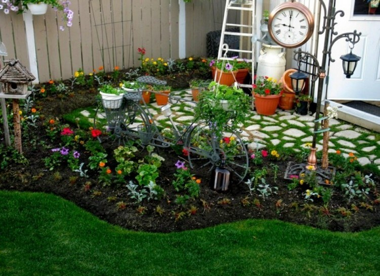 Innovative Garden Decor Idea