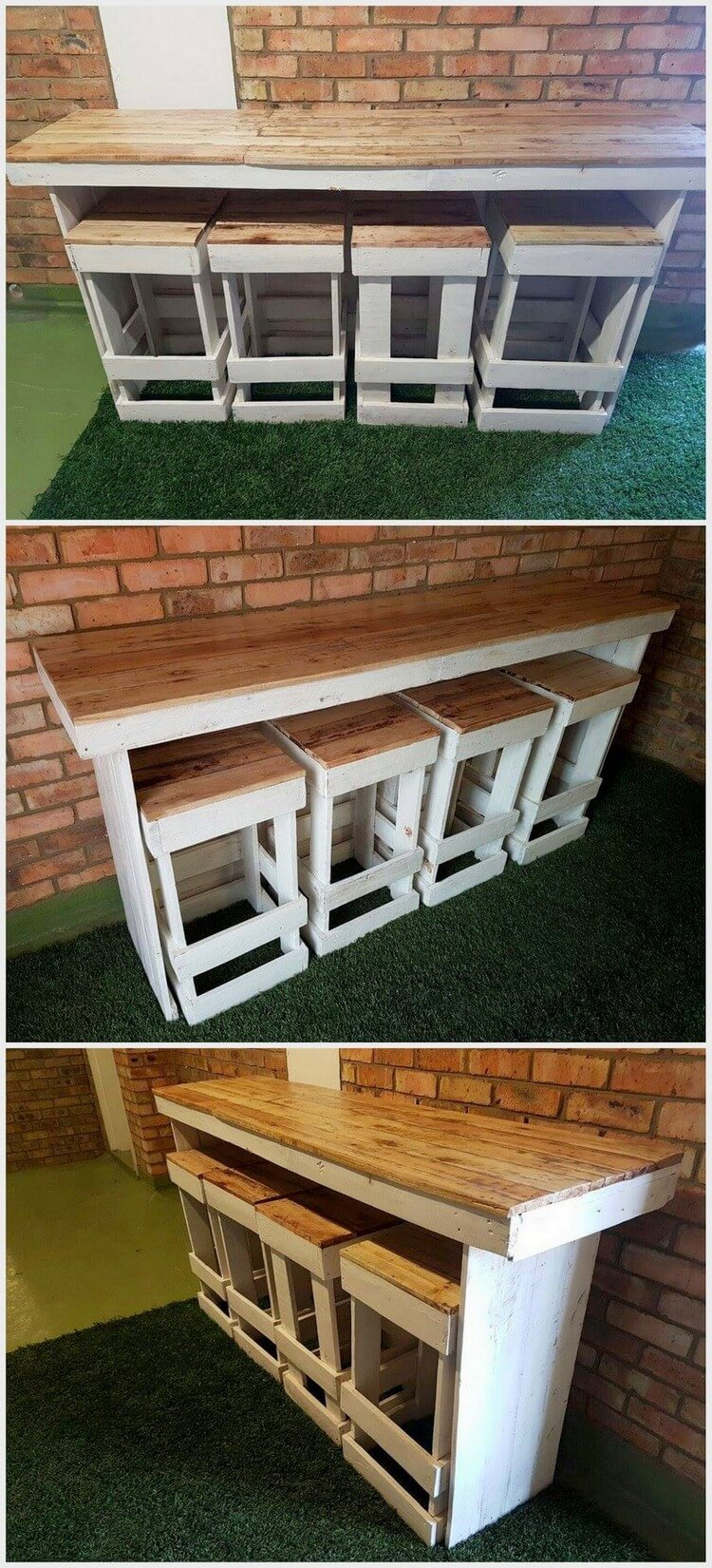 Cool and easy projects to do with wood pallets recycled for Things to build using pallets