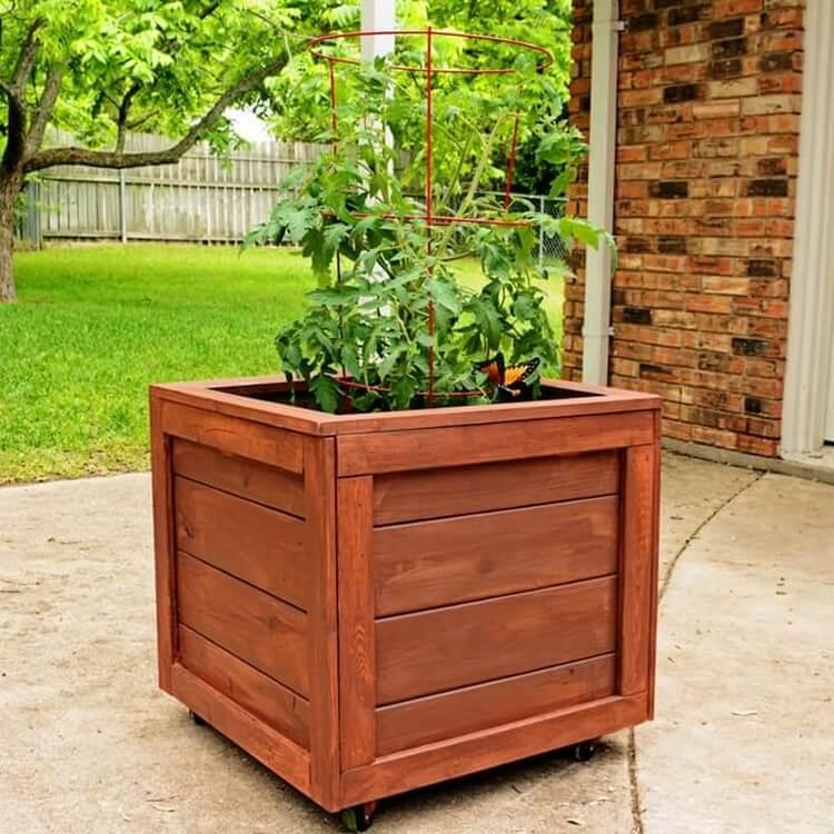 Planter Box for Garden Decor