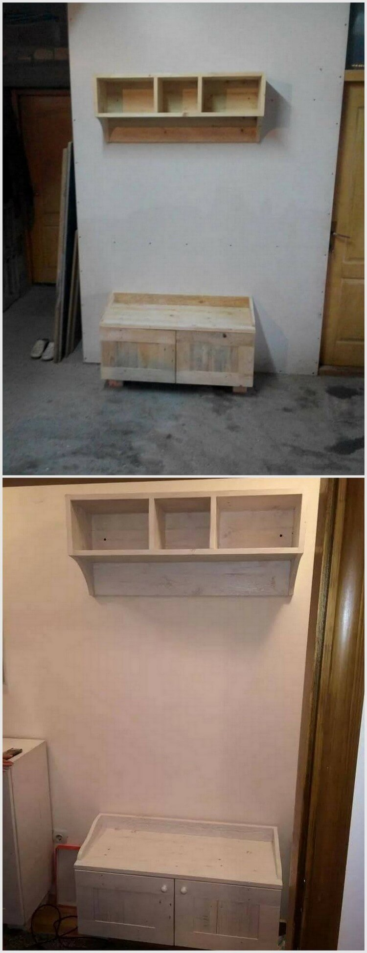pallet wood recycling ideas recycled things