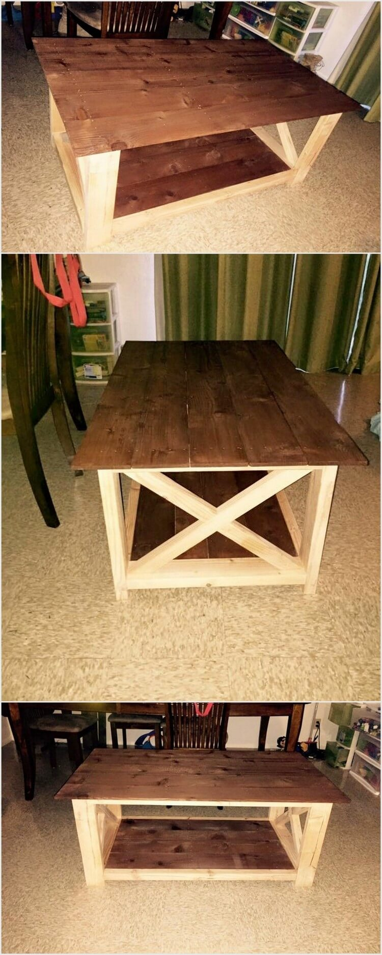 Stylish Pallet Table